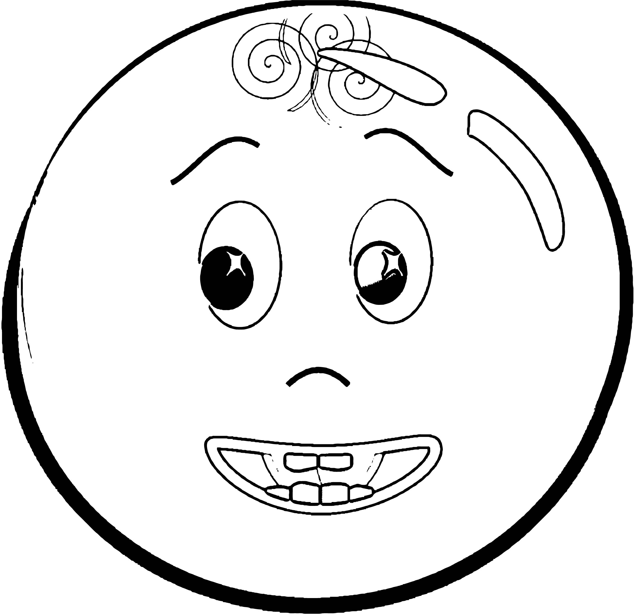 Face Images Coloring Page 28