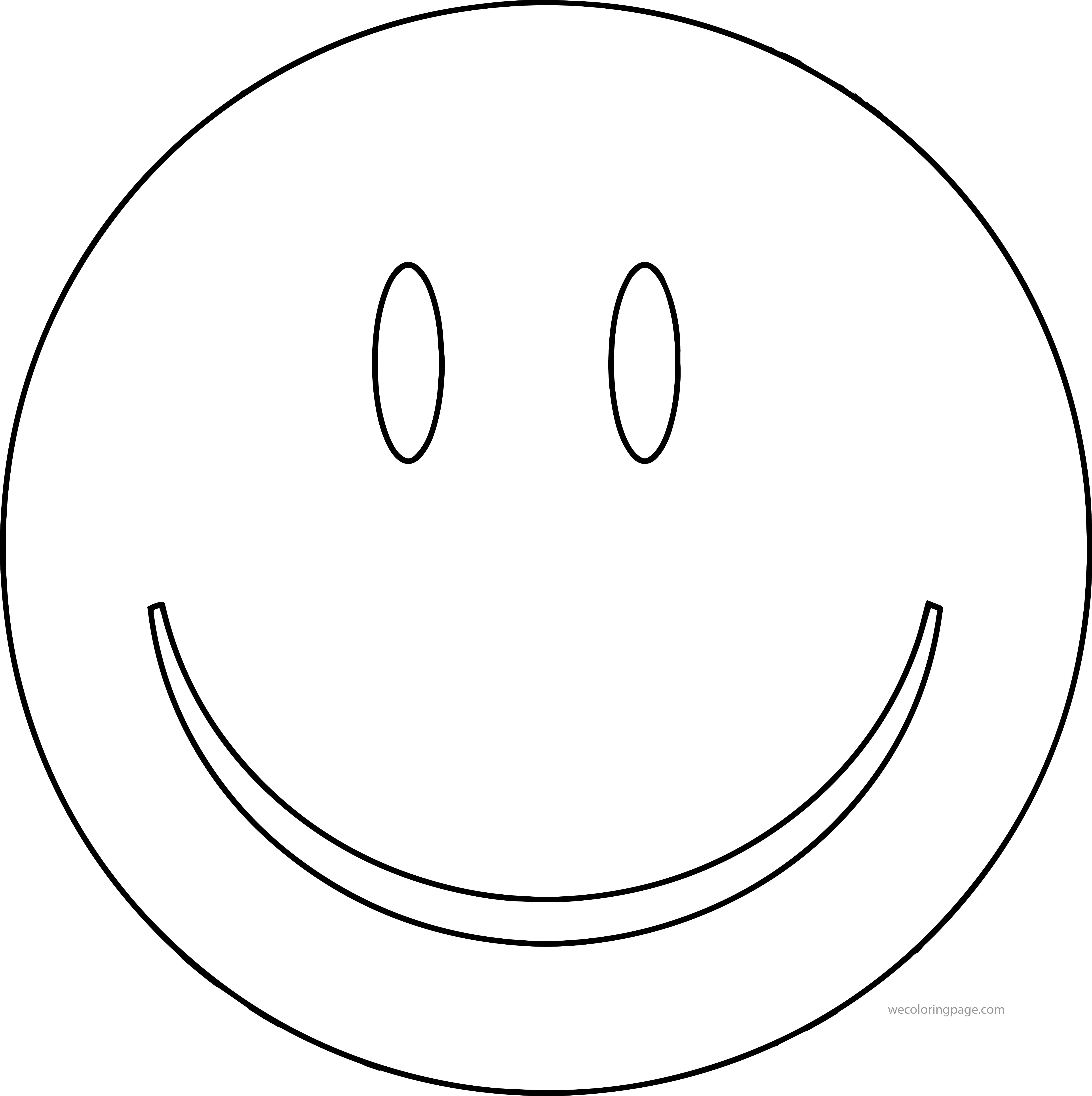Face Smiley Face Happy Face Clip Art Coloring Page