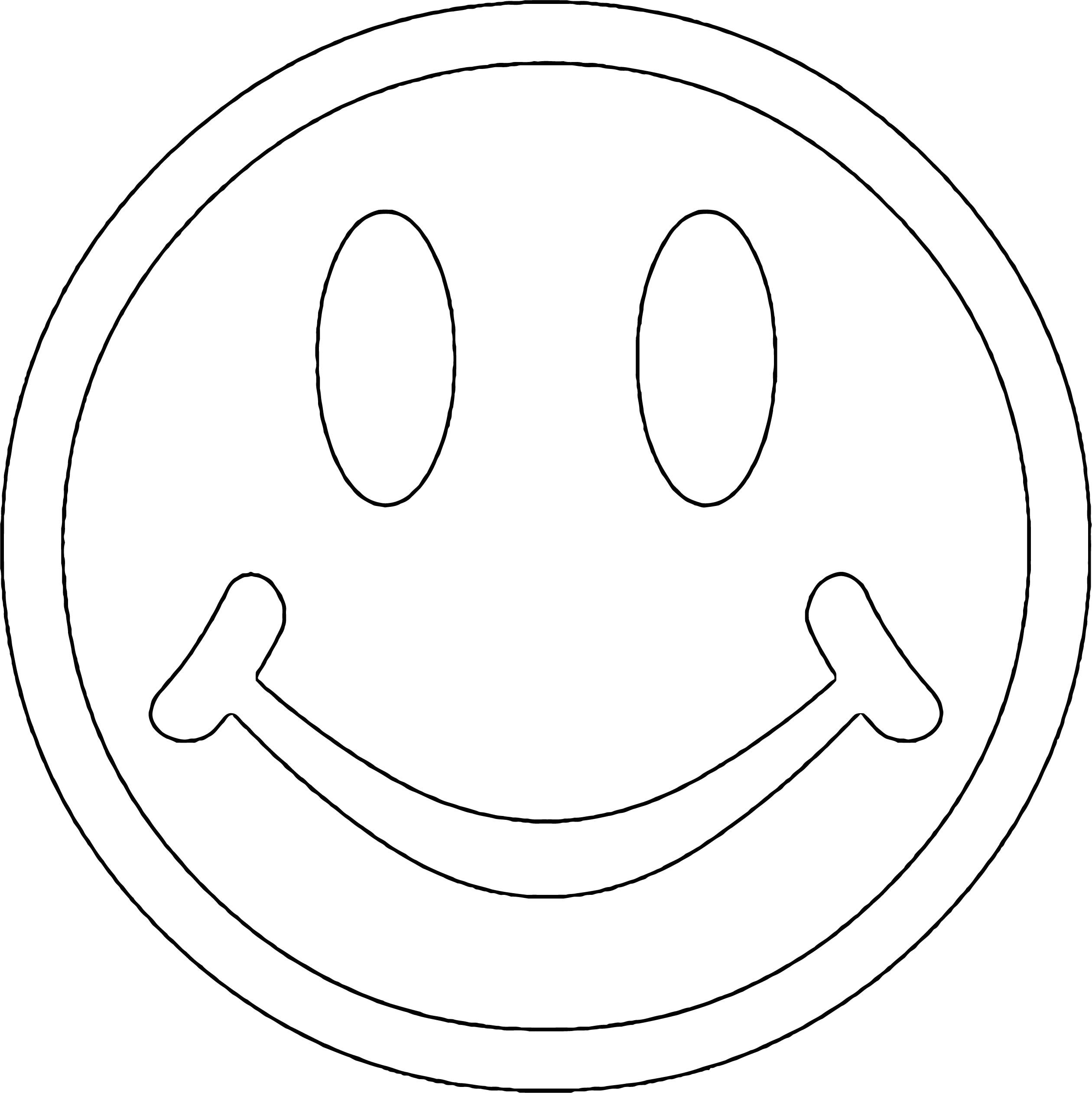 Face Smiley Face S For You Coloring Page