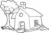 Free To Use Amp Public Domain Houses Coloring Page