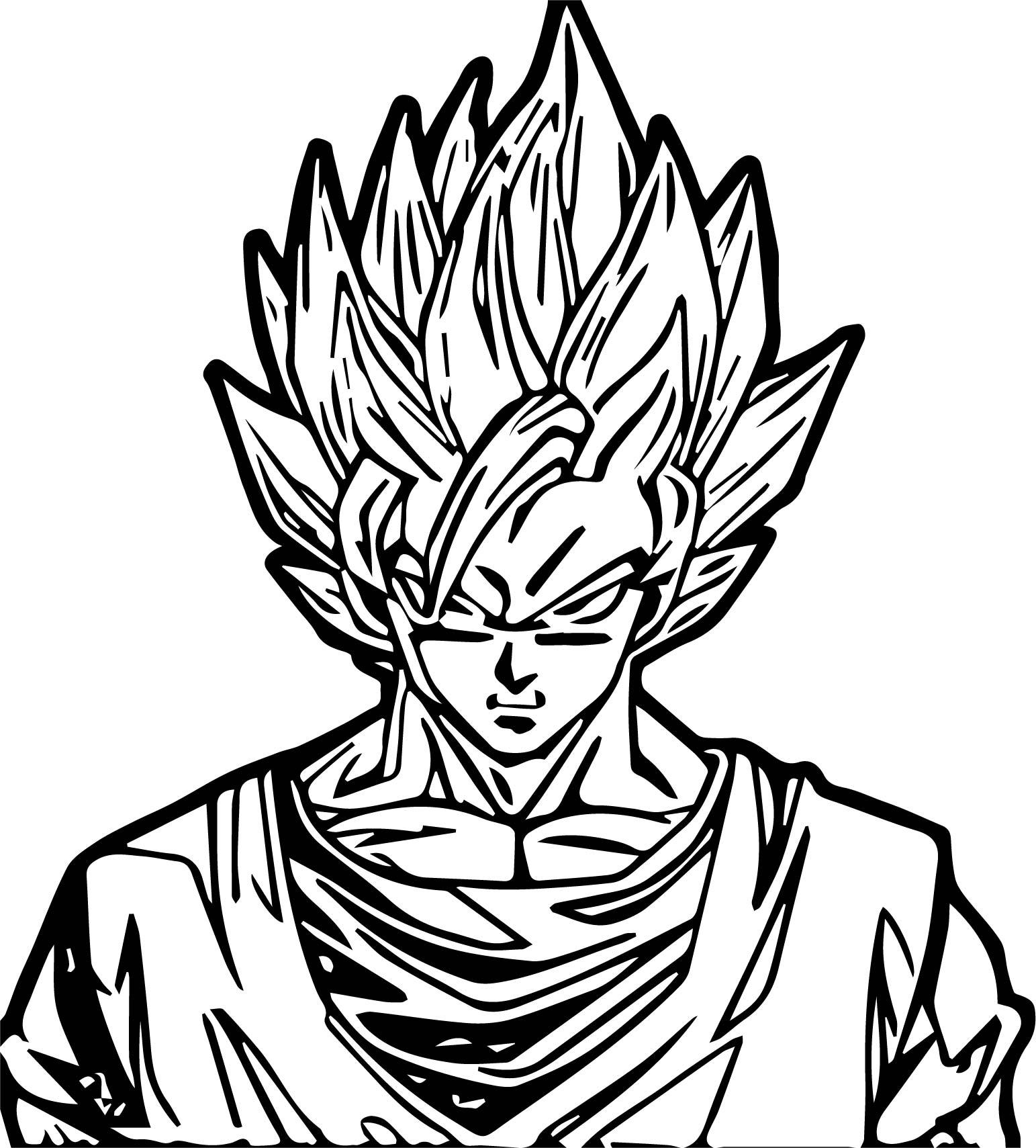 Goku We Coloring Page 047