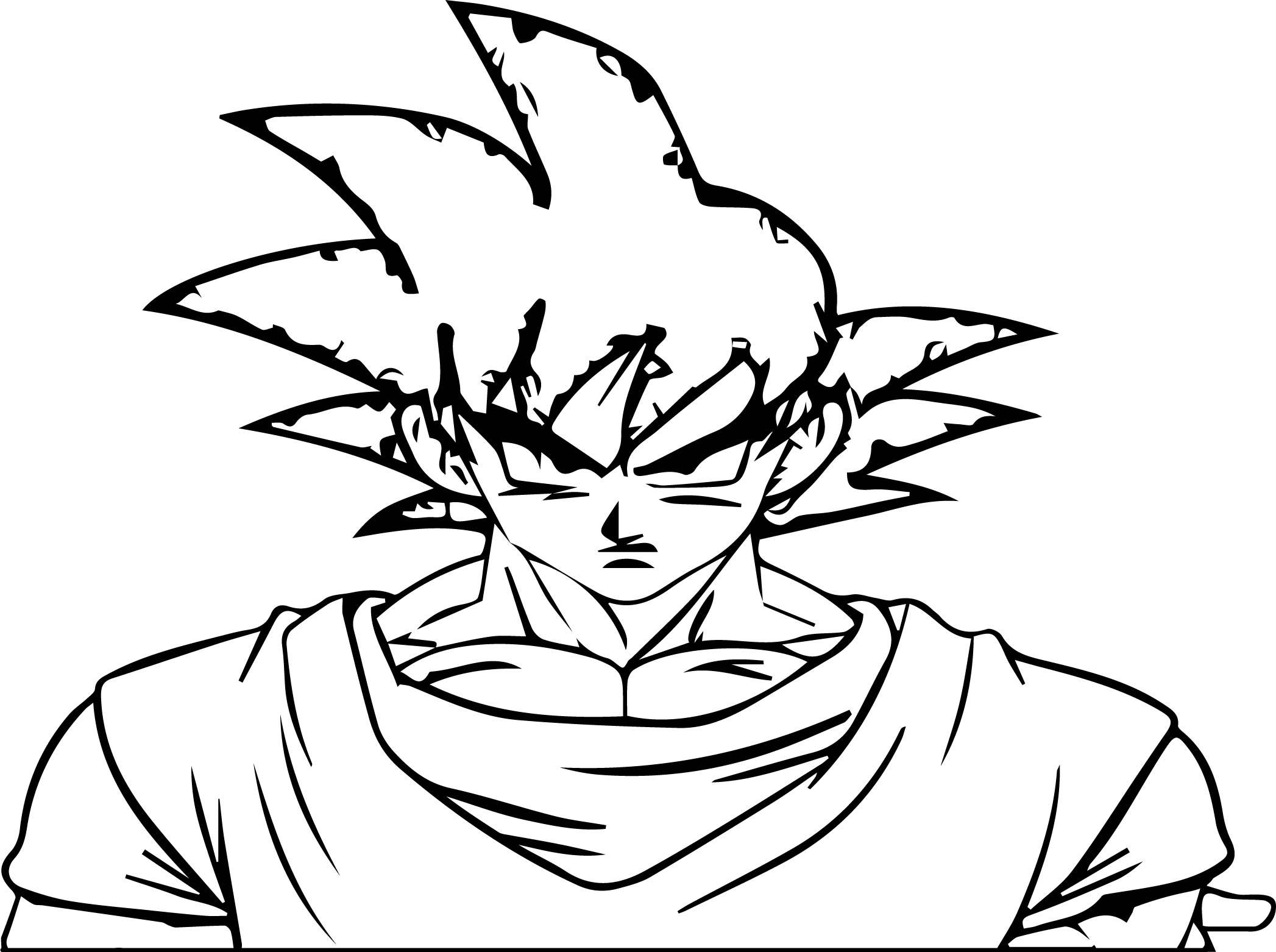 Goku We Coloring Page 049