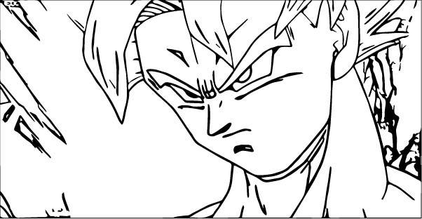 Goku We Coloring Page 051