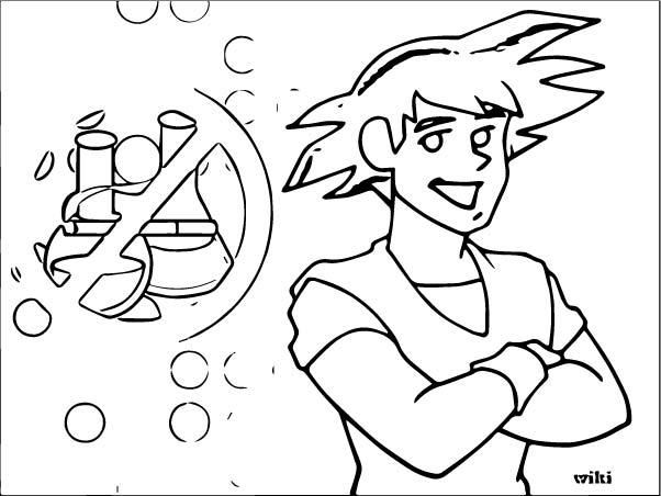 Goku We Coloring Page 053
