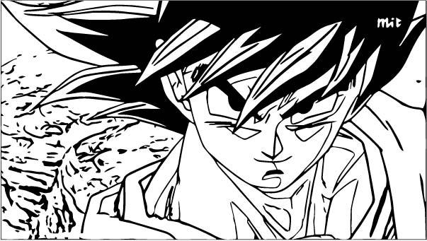 Goku We Coloring Page 056