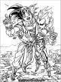 Goku We Coloring Page 060