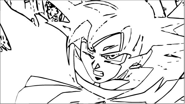 Goku We Coloring Page 061