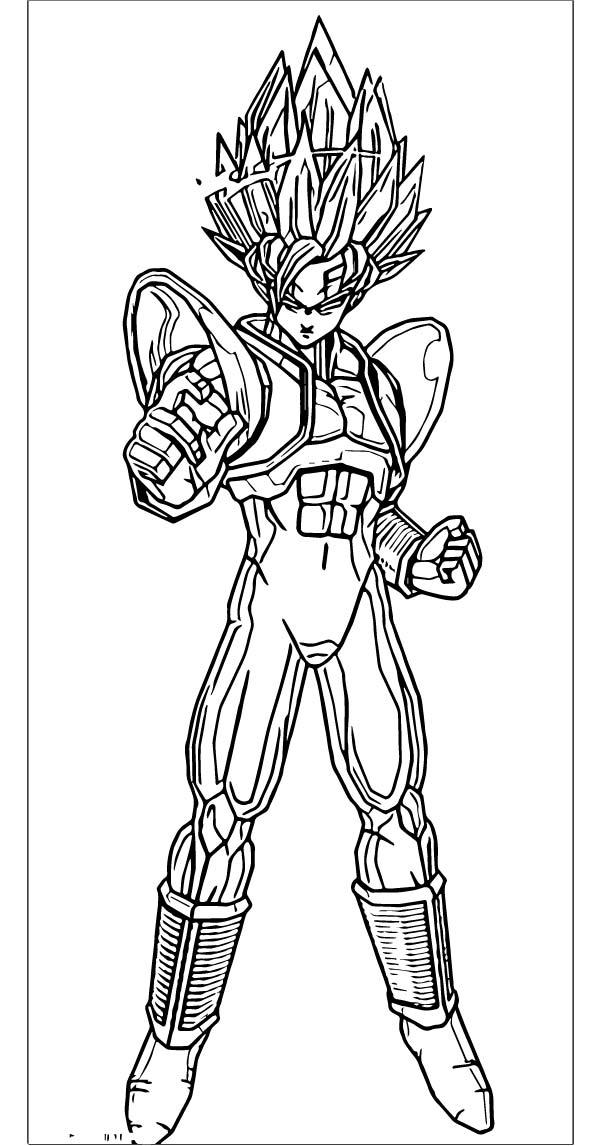 Goku We Coloring Page 068