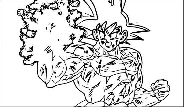 Goku We Coloring Page 082