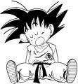 Goku We Coloring Page 091