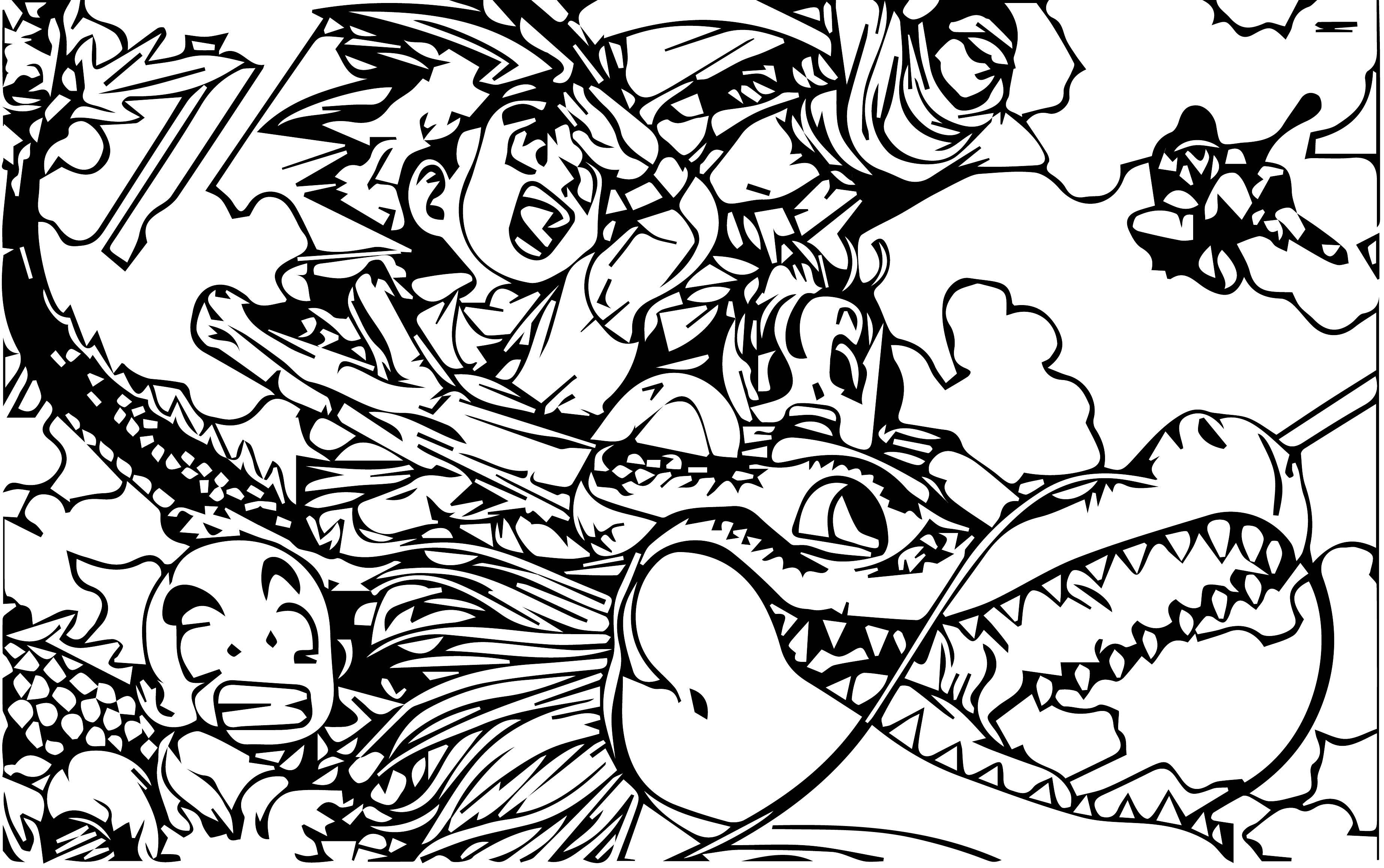 Goku We Coloring Page 100