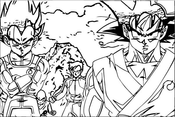 Goku We Coloring Page 101