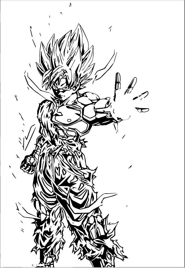 Goku We Coloring Page 104