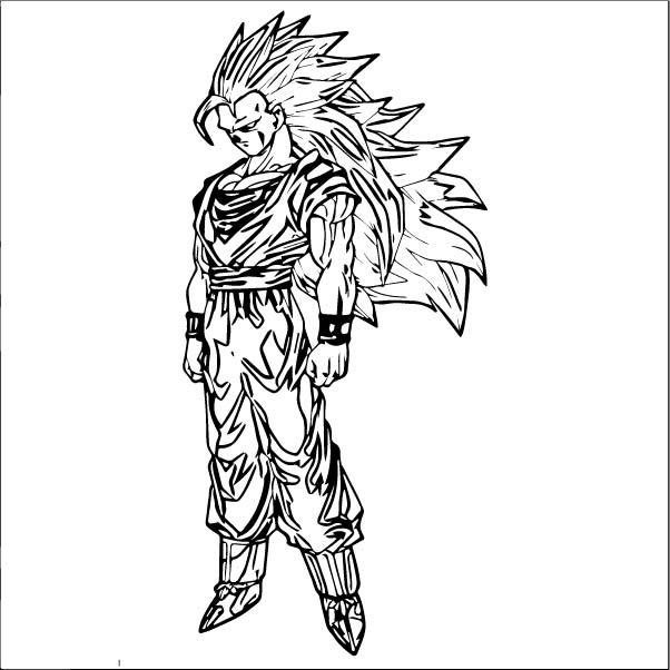 Goku We Coloring Page 107