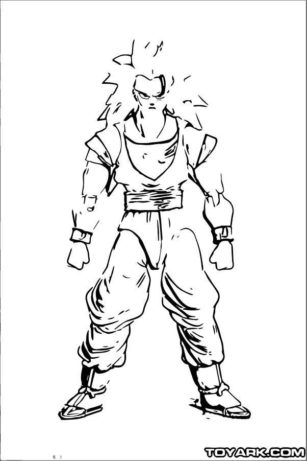 Goku We Coloring Page 109