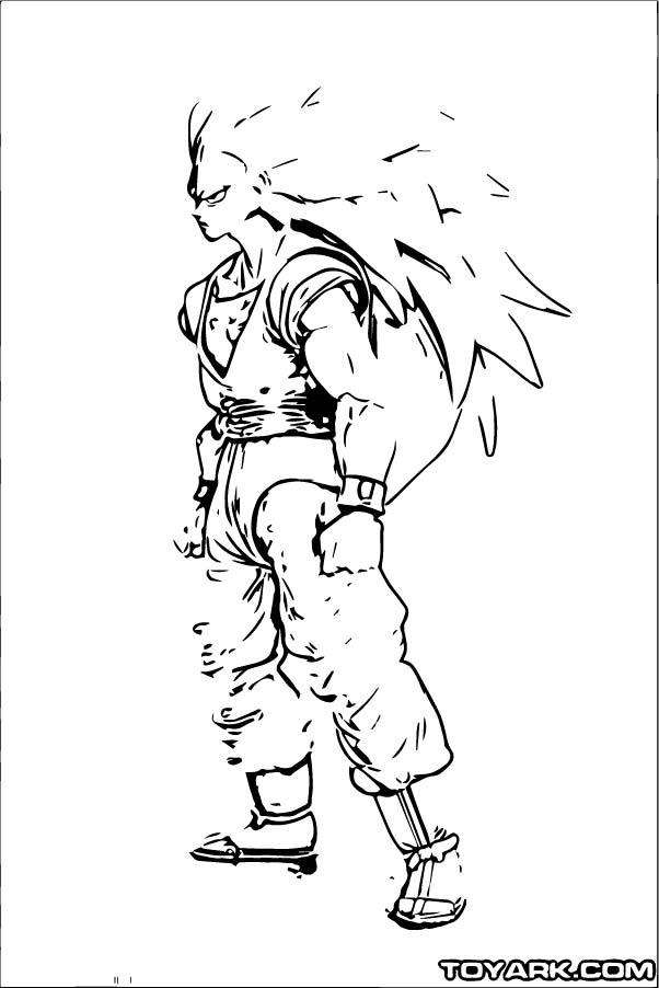 Goku We Coloring Page 110
