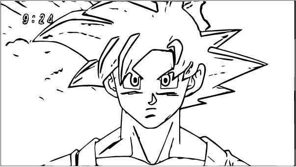 Goku We Coloring Page 116