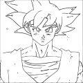 Goku We Coloring Page 119