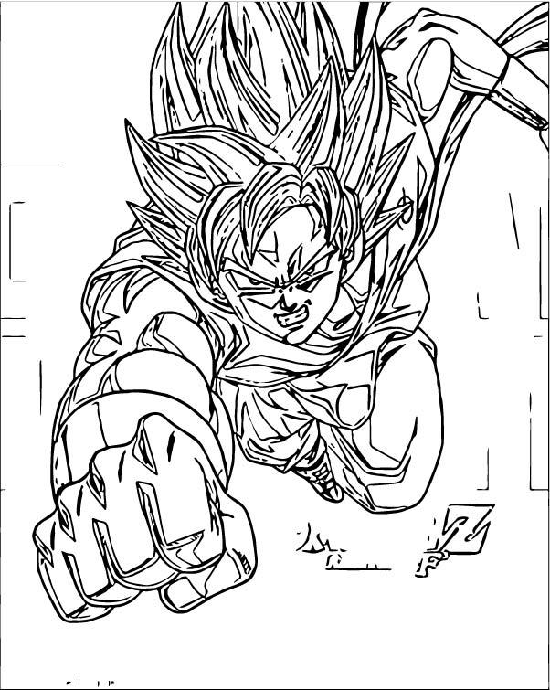 Goku We Coloring Page 122