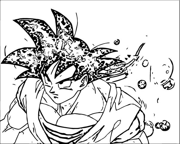 Goku We Coloring Page 123