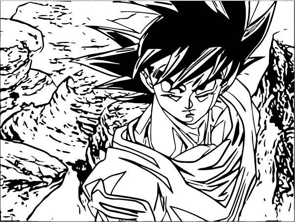 Goku We Coloring Page 125