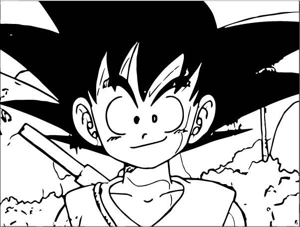 Goku We Coloring Page 126