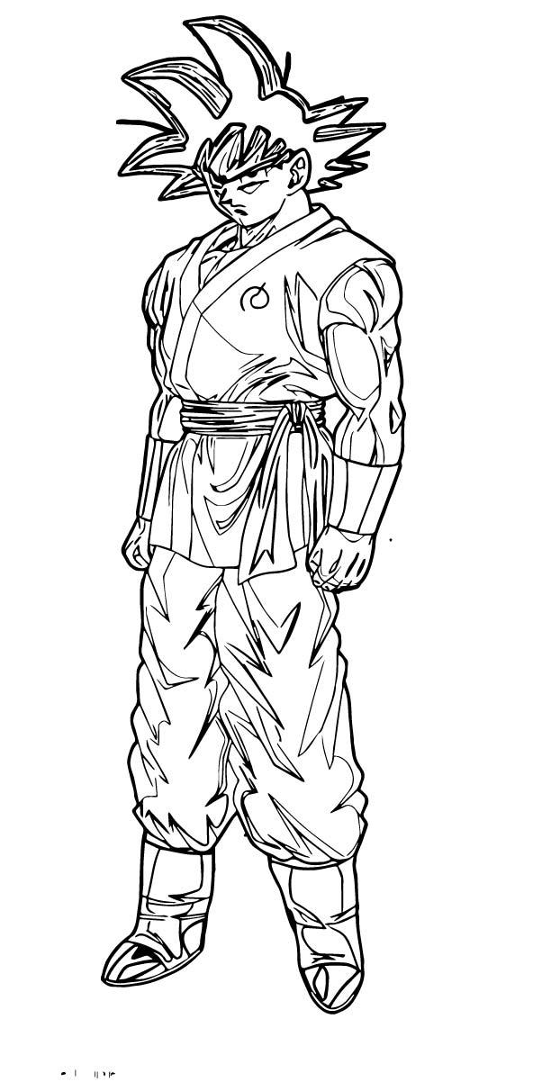 Goku We Coloring Page 127