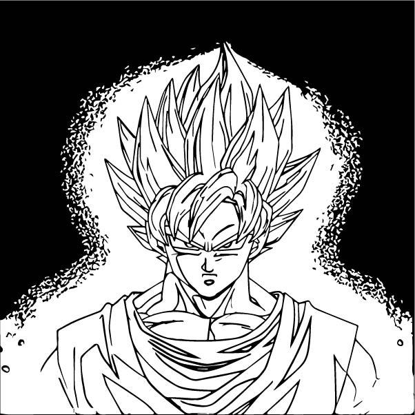 Goku We Coloring Page 131