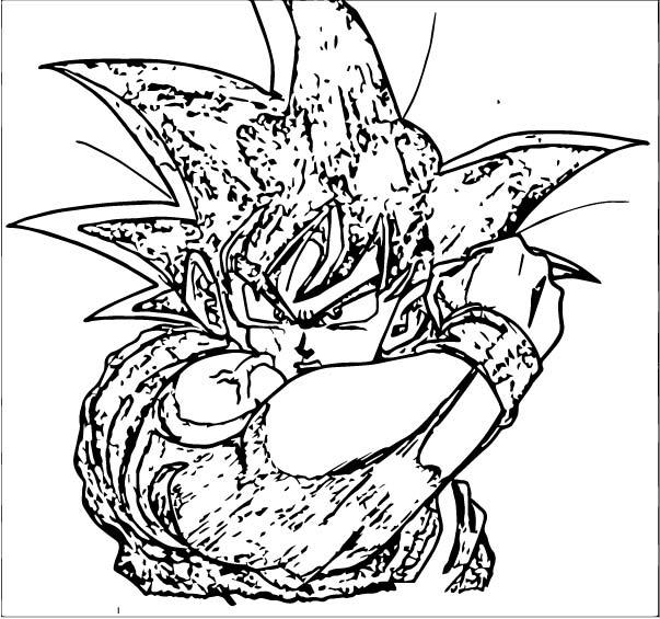 Goku We Coloring Page 133