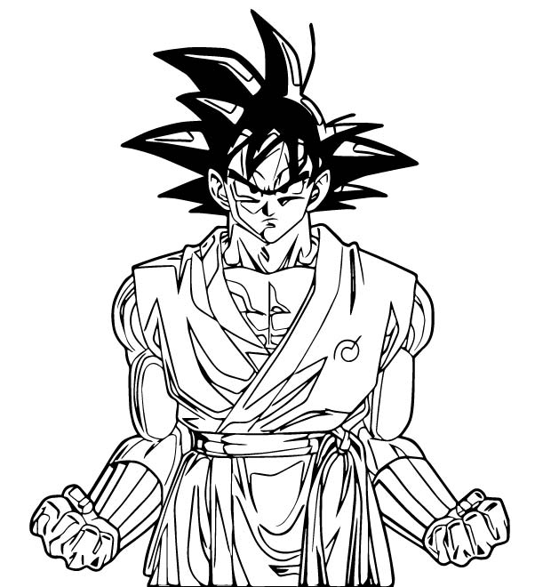 Goku We Coloring Page 134