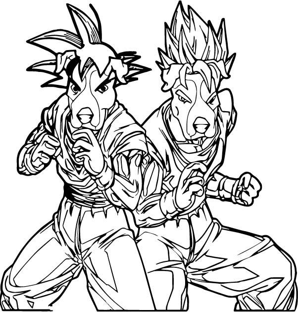Goku We Coloring Page 136