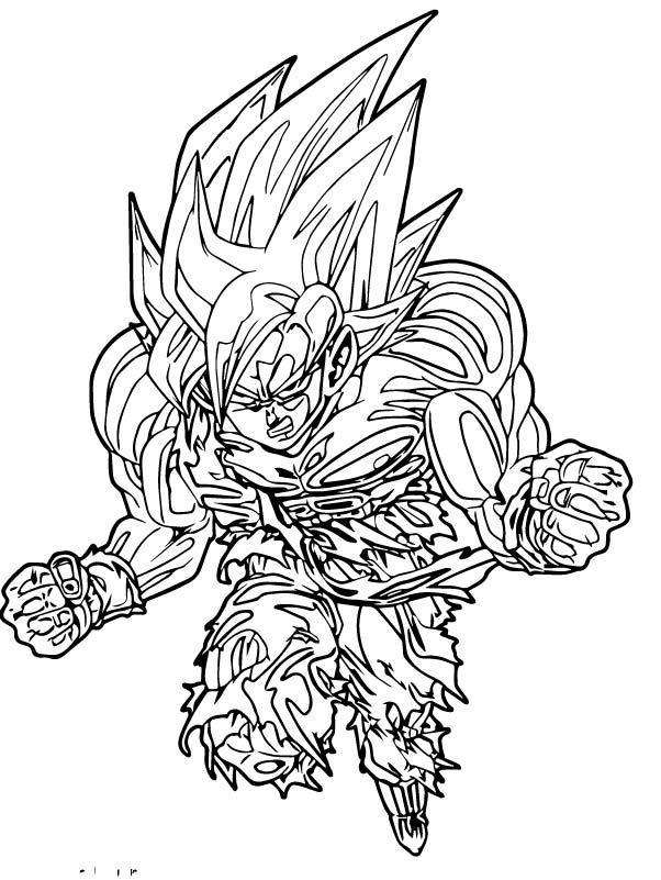 Goku We Coloring Page 137