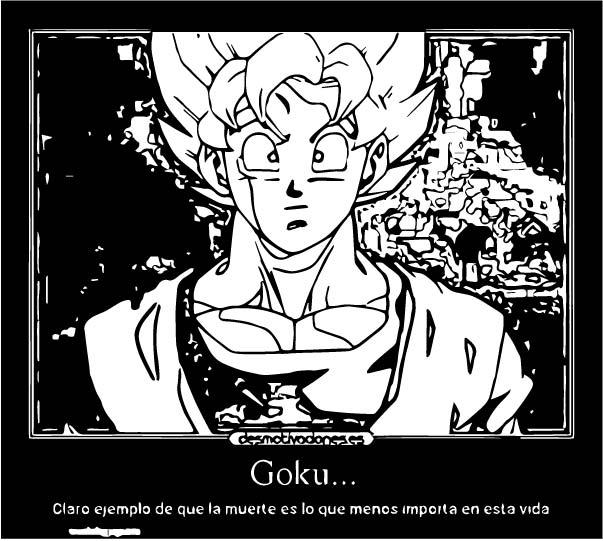 Goku We Coloring Page 138