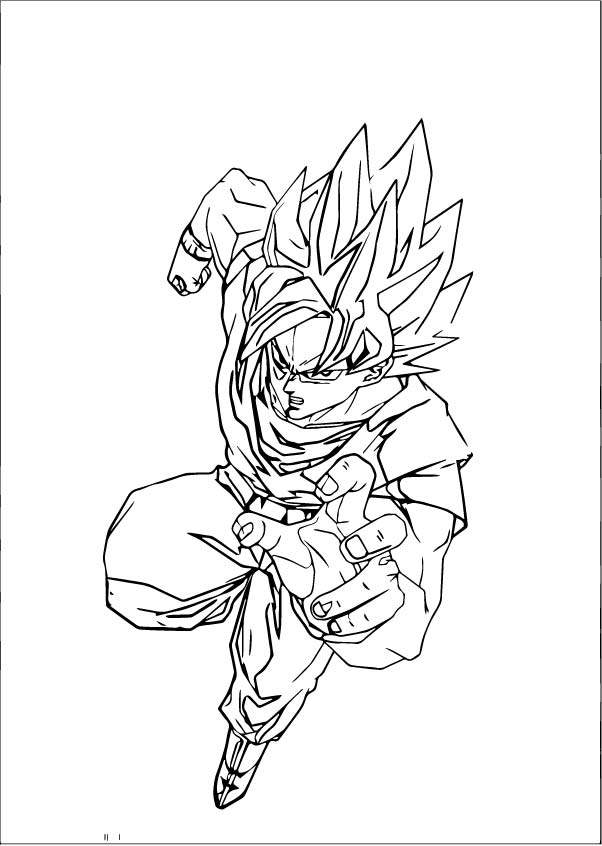 Goku We Coloring Page 139