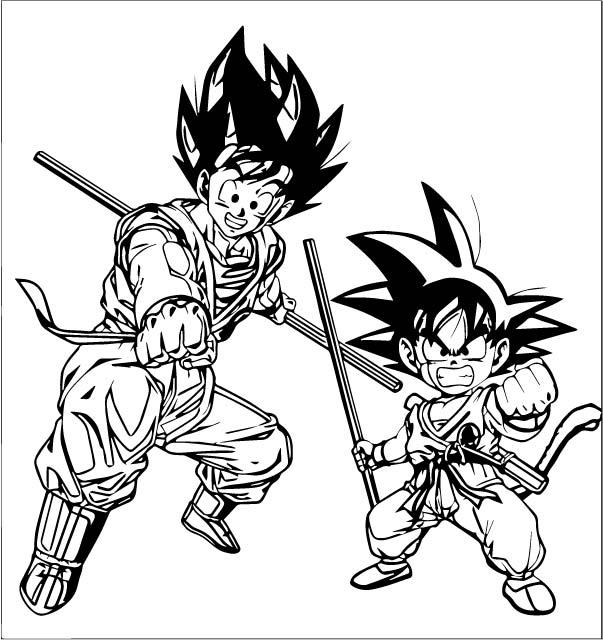 Goku We Coloring Page 140