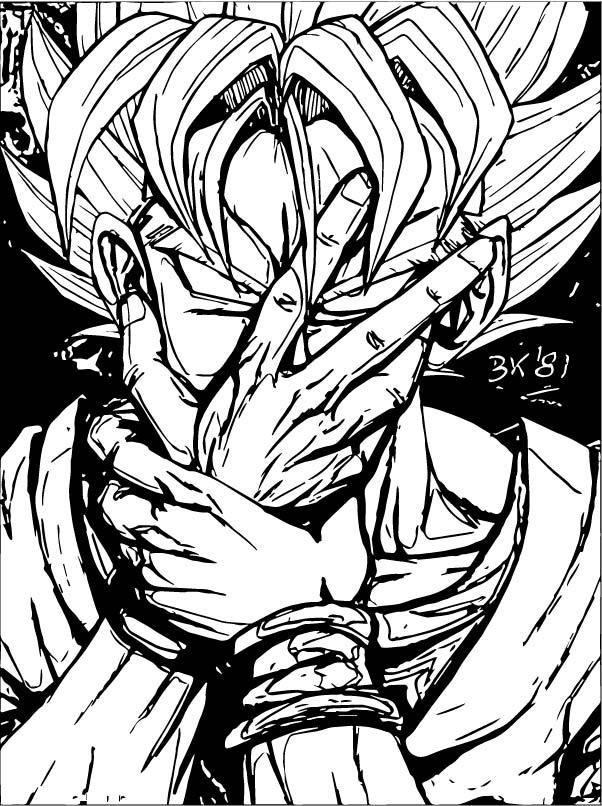 Goku We Coloring Page 141
