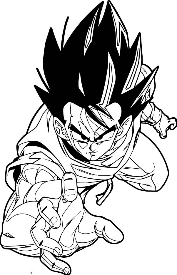 Goku We Coloring Page 148