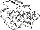 Goku We Coloring Page 150