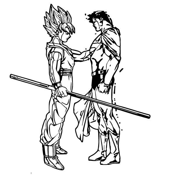 Goku We Coloring Page 154