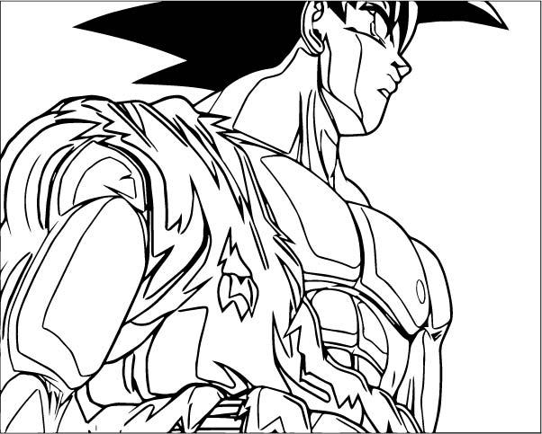 Goku We Coloring Page 156