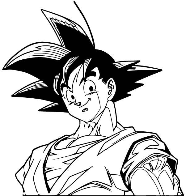 Goku We Coloring Page 161