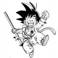 Goku We Coloring Page 165