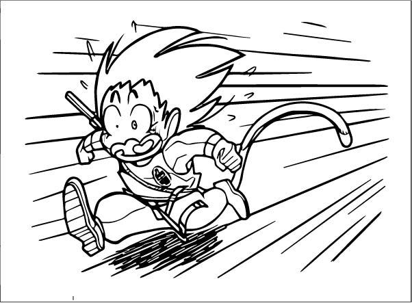 Goku We Coloring Page 166