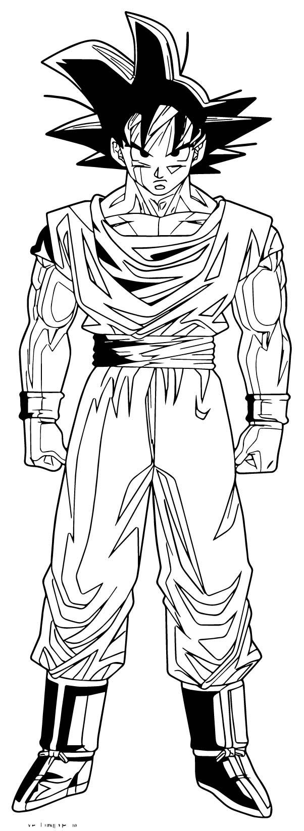 Goku We Coloring Page 168