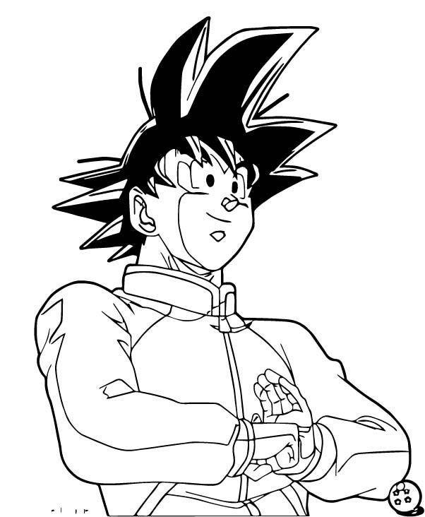 Goku We Coloring Page 170