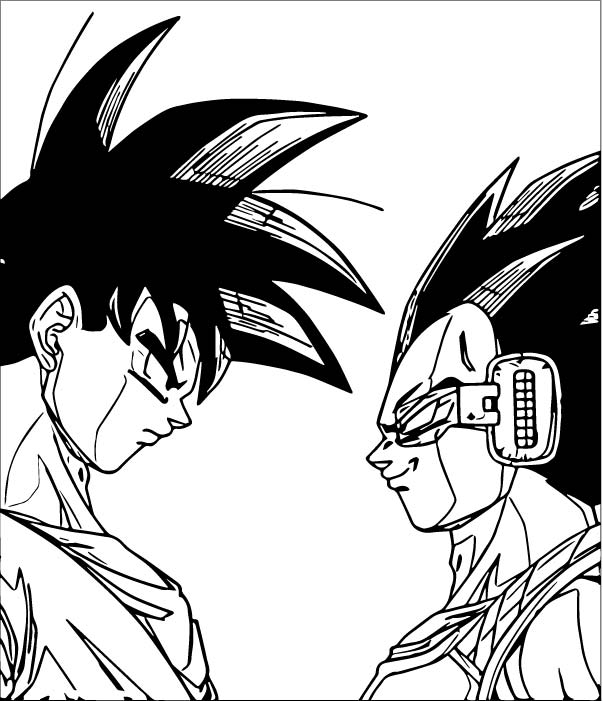 Goku We Coloring Page 171