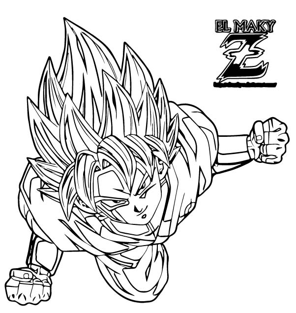 Goku We Coloring Page 173