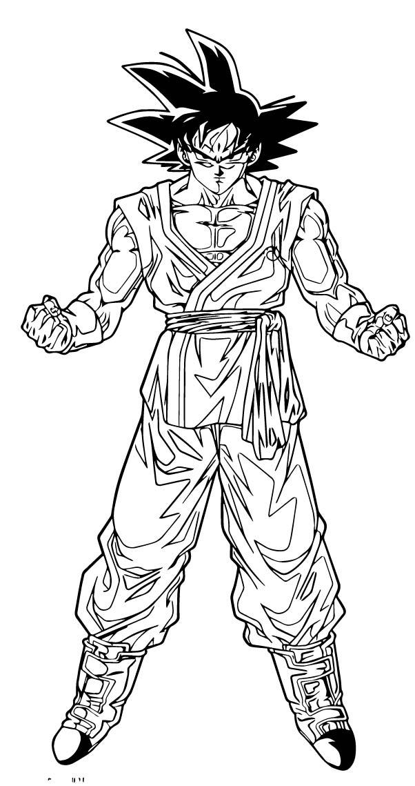 Goku We Coloring Page 175