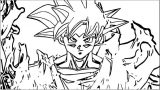 Goku We Coloring Page 181