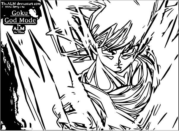 Goku We Coloring Page 182